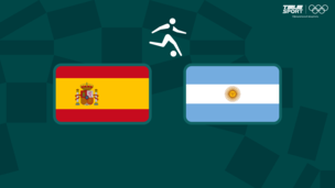 Олимпиада-2020. Футбол (муж). Испания — Аргентина