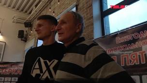 Встреча Игоря Дивеева со своим первым тренером