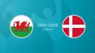 Уэльс — Дания. Евро-2020. 1/8 финала