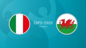 Италия — Уэльс. Евро-2020. 3 тур