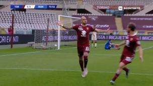 Торино — Рома. Серия А. 2:1 — видео гола Симоне Дзадзы