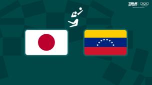 Олимпиада-2020. Волейбол (муж). Япония — Венесуэла