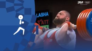 Олимпиада-2020. Тяжелая атлетика (муж). Группа А. Свыше 109 кг. Лаша Талахадзе (Грузия). Мировой рекорд