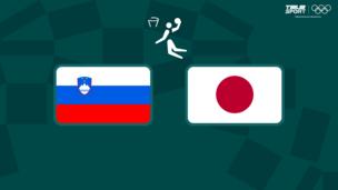 Олимпиада-2020. Баскетбол (муж). Словения — Япония