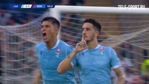 """""""Лацио"""" — """"Рома"""". Гол Луиса Альберто"""