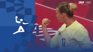 Олимпиада-2020. Гандбол (жен). 1/4 финала. Нидерланды — Франция. Видео обзор