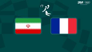 Олимпиада-2020. Баскетбол (муж). Иран — Франция