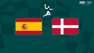 Олимпиада-2020. Гандбол (муж). 1/2 финала. Испания — Дания