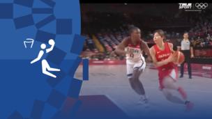 Олимпиада-2020. Баскетбол (жен). Финал. США — Япония. Видео моменты