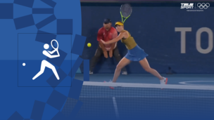 Олимпиада-2020. Теннис (жен). За 3-е место. Элина Свитолина (Украина) — Елена Рыбакина (Казахстан). Видео обзор