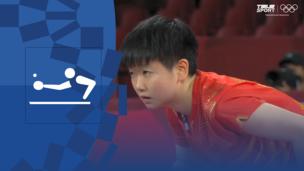 Олимпиада-2020. Настольный теннис (жен). Командное первенство. Матч 2. Финал. Китай — Япония. Видео обзор