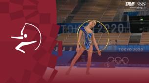 Олимпиада-2020. Художественная гимнастика (жен). Финал. Обруч. Дина Аверина (ОКР). Полное видео