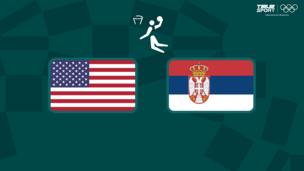 Олимпиада-2020. Баскетбол (жен). 1/2 финала. США — Сербия