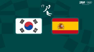 Олимпиада-2020. Баскетбол (муж). Республика Корея — Испания