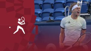 Олимпиада-2020. Теннис (муж). Финал. Александр Зверев (Германия) — Карен Хачанов (ОКР). Видео обзор