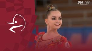 Олимпиада-2020. Художественная гимнастика (жен). Финал. Обруч. Арина Аверина (ОКР). Полное видео