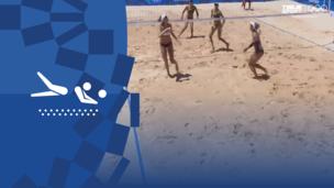 Олимпиада-2020. Пляжный волейбол (жен). Финал. США — Австралия. Видео обзор