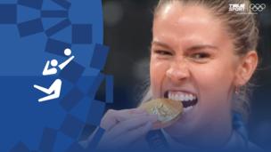Олимпиада-2020. Волейбол (жен). Финал. Бразилия — США. Видео моменты