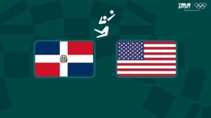 Олимпиада-2020. Волейбол (жен). 1/4 финала. Доминиканская Республика — США