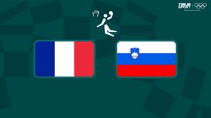 Олимпиада-2020. Баскетбол (муж). 1/2 финала. Франция — Словения
