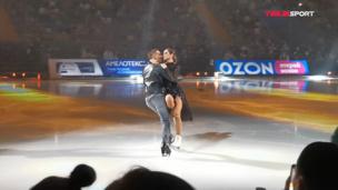 Ольга Бузова и Дмитрий Соловьев. Shallow (Lady Gaga) на гала-шоу «Ледниковый период». Видео выступления