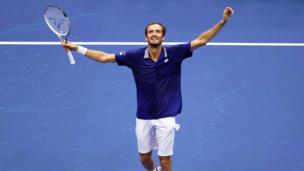 Пресс-конференция ДАНИИЛА МЕДВЕДЕВА, посвященная его победе над НОВАКОМ ДЖОКОВИЧЕМ в финале US Open