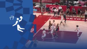 Олимпиада-2020. Баскетбол (жен). 1/2 финала. Япония — Франция. Видео обзор