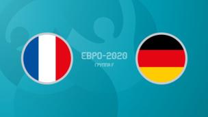 Франция — Германия. Евро-2020. 1 тур