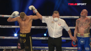 ОТКАЗАЛСЯ ДРАТЬСЯ — боксер из Британии не захотел продолжить поединок