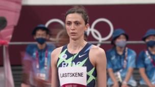 СЛЕЗЫ РАДОСТИ олимпийской чемпионки Токио-2020 в прыжках в высоту МАРИИ ЛАСИЦКЕНЕ
