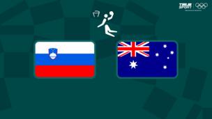 Олимпиада-2020. Баскетбол (муж). За третье место. Словения — Австралия