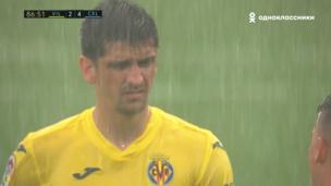 Вильярреал — Сельта. Ла Лига. 2:4 — видео гола Жерара Морено