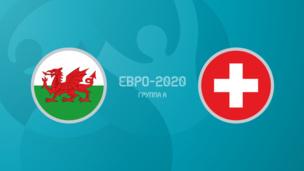 Уэльс — Швейцария. Евро-2020. 1-й тур
