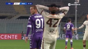 Фиорентина — Рома. Серия А. 1:2 — видео гола Амаду Диавара