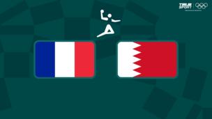 Олимпиада-2020. Гандбол (муж). 1/4 финала. Франция — Бахрейн