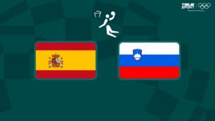Олимпиада-2020. Баскетбол (муж). Испания — Словения