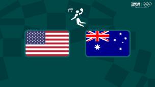 Олимпиада-2020. Баскетбол (муж). 1/2 финала. США — Австралия