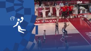 Олимпиада-2020. Баскетбол (жен). 1/4 финала. Испания — Франция. Видео обзор