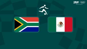 Олимпиада-2020. Футбол (муж). ЮАР — Мексика