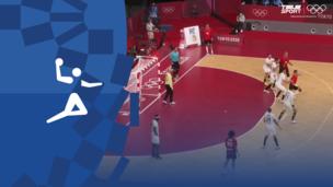 Олимпиада-2020. Гандбол (муж). 1/2 финала. Франция — Египет. Видео обзор