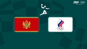 Олимпиада-2020. Гандбол (жен). 1/4 финала. Черногория — Команда ОКР