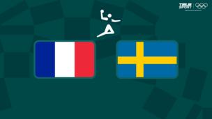 Олимпиада-2020. Гандбол (жен). 1/2 финала. Франция — Швеция
