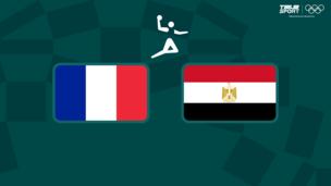 Олимпиада-2020. Гандбол (муж). 1/2 финала. Франция — Египет