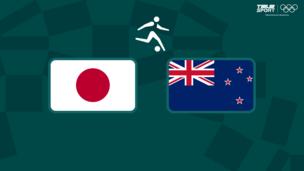 Олимпиада-2020. Футбол (муж). 1/4 финала. Япония — Новая Зеландия