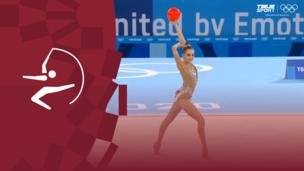 Олимпиада-2020. Художественная гимнастика (жен). Финал. Мяч. Арина Аверина (ОКР). Полное видео