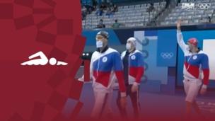Олимпиада-2020. Плавание (муж). Комбинированная эстафета 4×100 м. Финал. Команда (ОКР). Полное видео