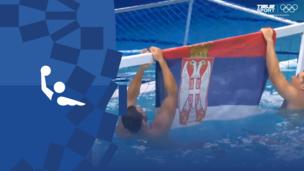 Олимпиада-2020. Водное поло (муж). Финал. Ликование сборной Сербии. Видео
