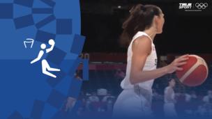 Олимпиада-2020. Баскетбол (жен). За 3-е место. Сербия — Франция. Моменты матча. Видео