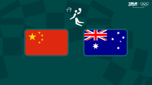 Олимпиада-2020. Баскетбол (жен). Китай — Австралия
