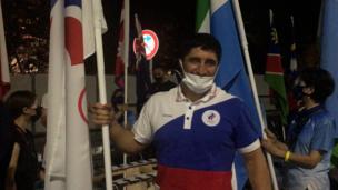 «Понесу флаг с гордо поднятой головой!» Интервью нашего знаменосца Садулаева перед церемонией закрытия Олимпиады